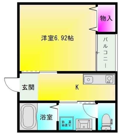 F+style大蓮南2号館 間取り